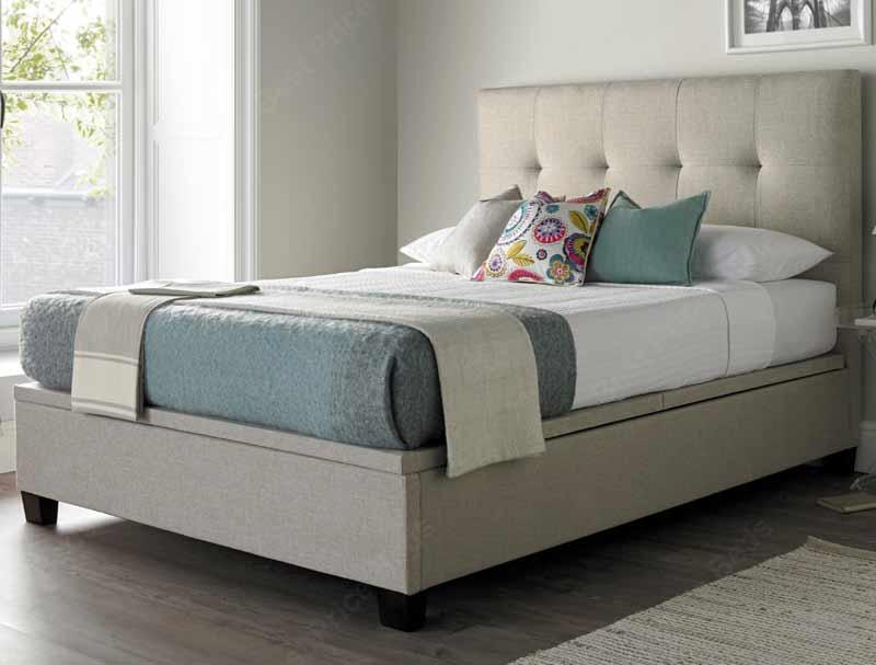Kaydian Walkworth Fabric Ottoman Bed Frame Buy Online At